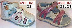 Sandálky dětské Protetika